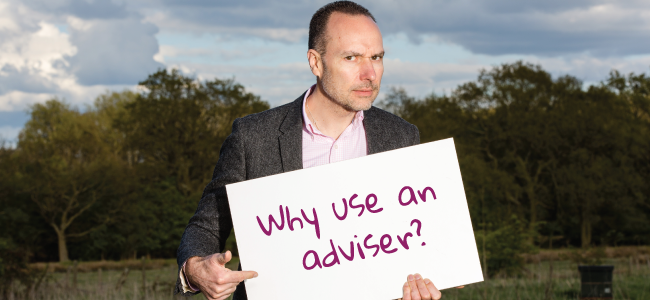Why use an adviser?